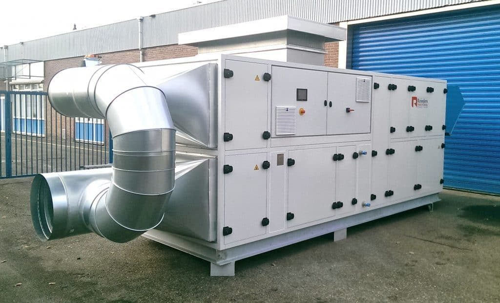 Industrial dehumidifier Drying system Reinders Industrial 4