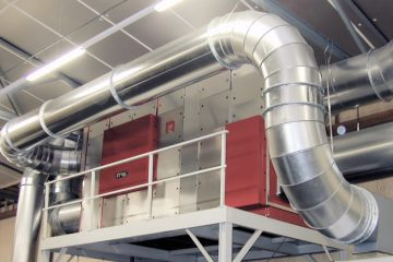 Industriële luchtontvochtiger Droogsysteem Reinders Industrial 3