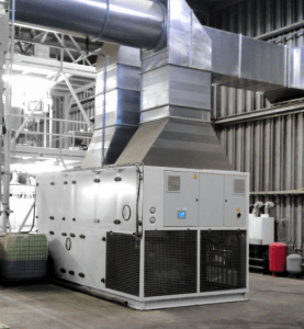 Industrial dehumidifier Drying system Reinders Industrial 2