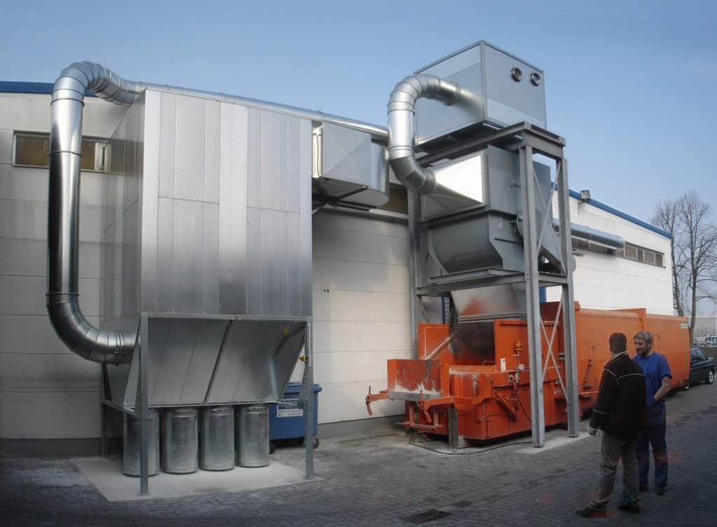 Filterinstallatie-papierindustrie