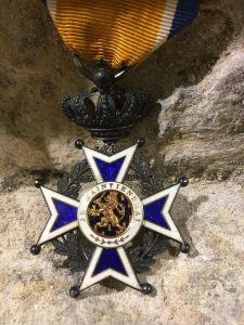 Gerrit Reinders Sr. Knighted by Her Majesty the Queen In the Order of Orange-Nassau